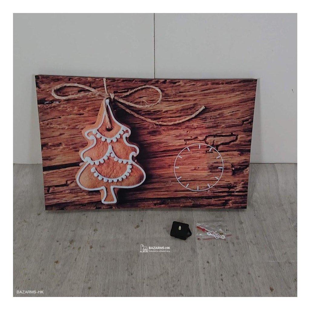 Obraz s hodinami Christmas no. 1