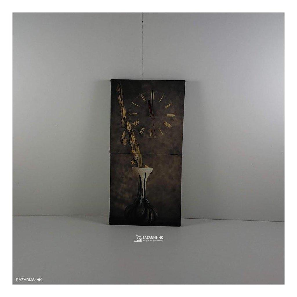 Obrazové hodiny Kompozice s vázou