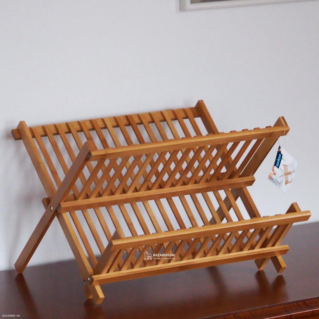 Odkapávač bambus 42x36 cm