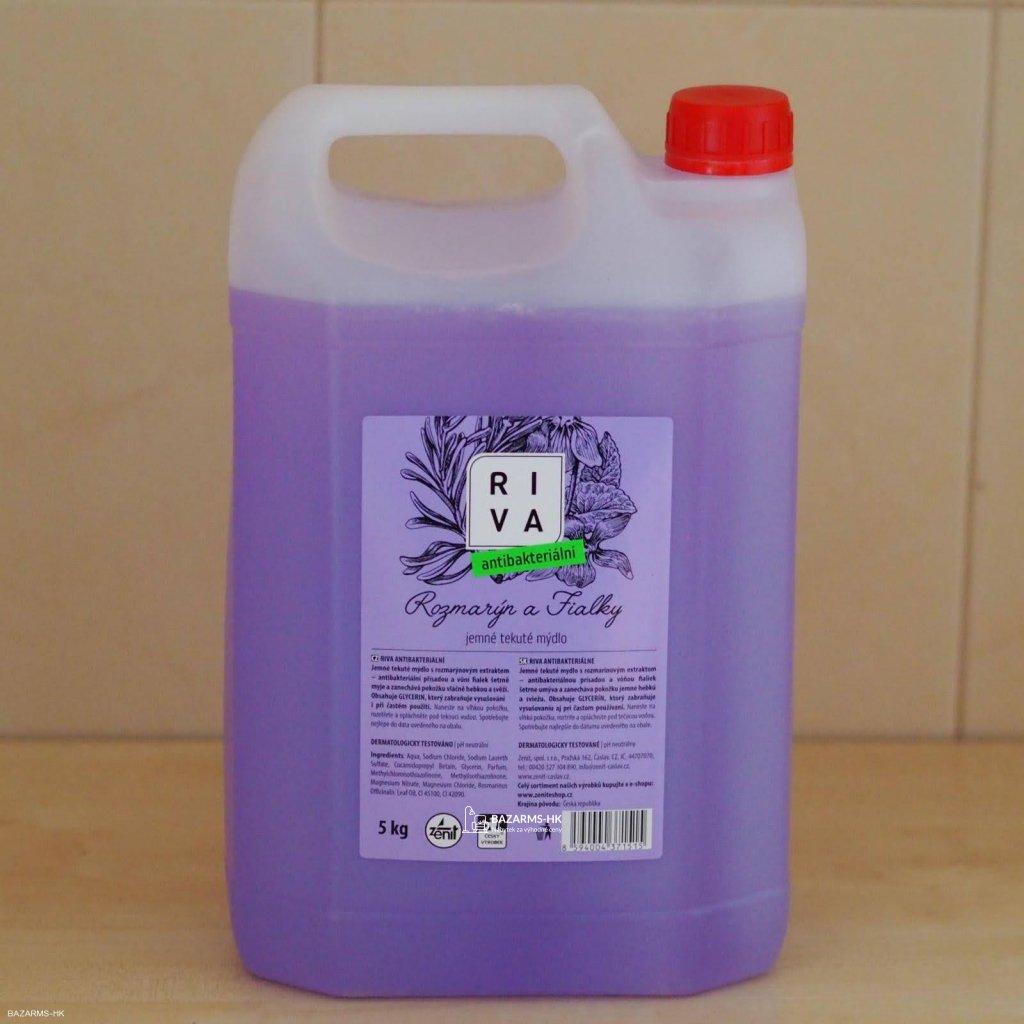 Tekuté antibakteriální mýdlo RIVA, 5 kg