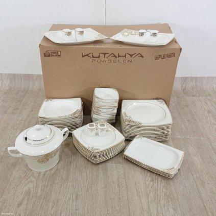 59dílná sada porcelánového nádobí Kutahy