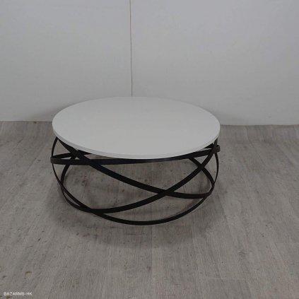 Bílý konferenční stolek s?mcasa Evgeni