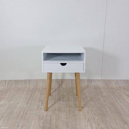 Bílý noční stolek Tomasucci Kyra