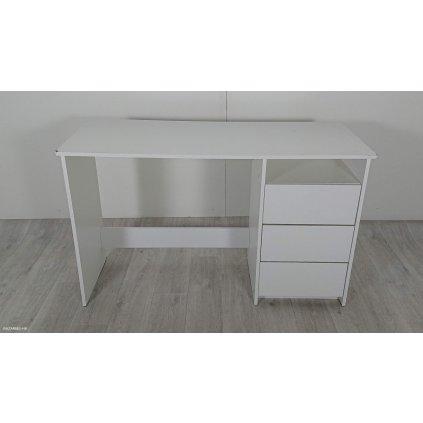 Bílý pracovní stůl La Perla