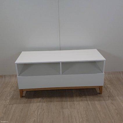 Bílý televizní stolek Woodman Blanco