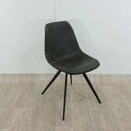 Černá jídelní židle Canett Liva Ivina
