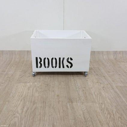 Dřevěná krabice na knihy Really Nice Thi