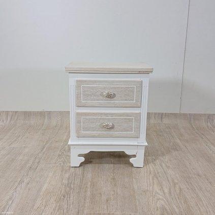 Dřevěný noční stolek Geese Ethel