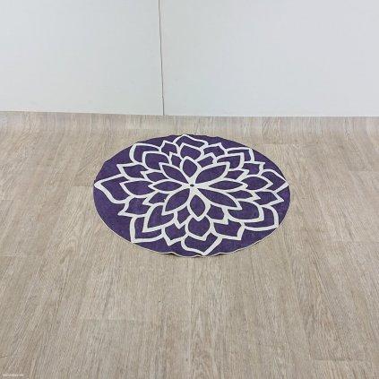 Fialový koberec Vitaus