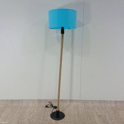 Lampa s tyrkysovým stínítkem lampa Kate