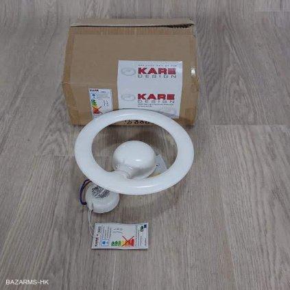 Nástěnné světlo Clip Round White LED Kar