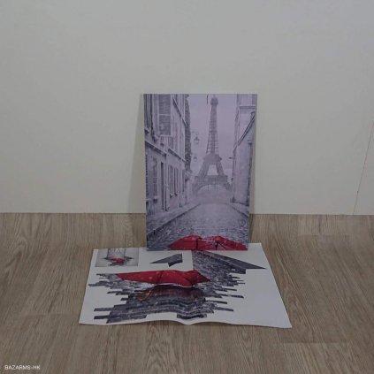 Nástěnný 3D obraz Mosticx Red Umbrella I