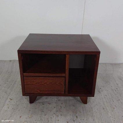 Noční stolek SKANDICA Viveca Dark