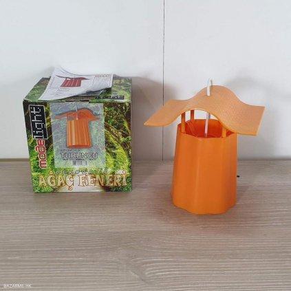 Oranžová lucerna Luciana