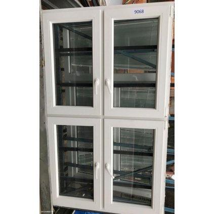Plastové okno 121 x 200 cm