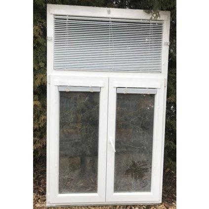Plastové okno 124 x 205 cm