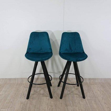 Sada 2 barových židlí Actona Dima