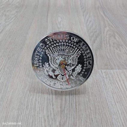 Stolní hodiny US Coin Kare Design
