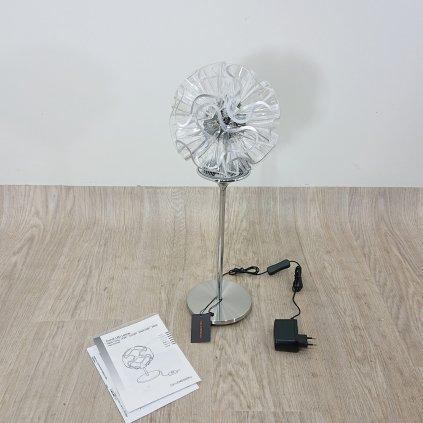 Stolní lampa QisDesign Coral čirá