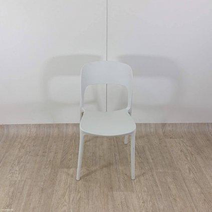 Bílá zahradní židle Resol Ona