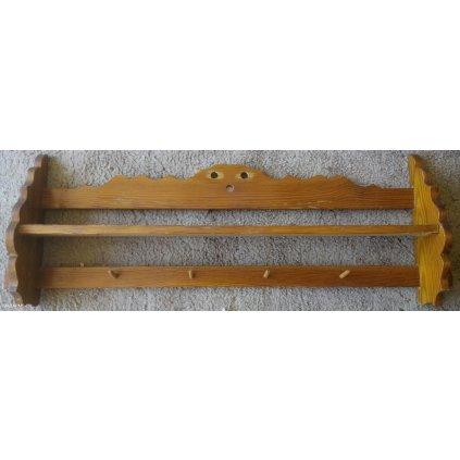 Dřevěná polička