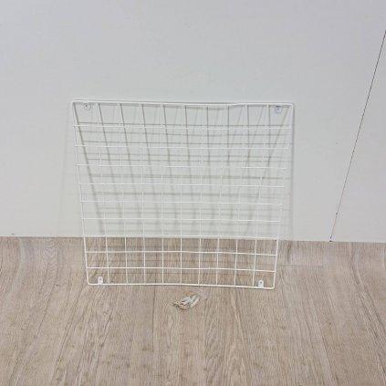 Bílá kovová nástěnka Reminder, 60 x 60 cm