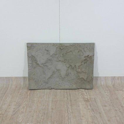 Betonový nástěnný obraz Lyon Béton The Grey Planet