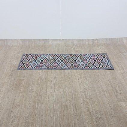 Šedobéžový kuchyňský běhoun Hanse Home Cook and Clean, 45 x 140 cm