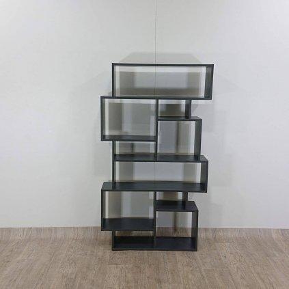 Antracitová knihovna Homitis Karmato