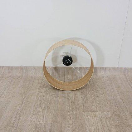 Stropní svítidlo z dubové dýhy Sotto Luce TSURI XL, o 45 cm