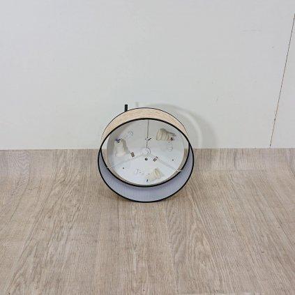 Stropní svítidlo v měděné barvě Bulb Attack Tres, O 30 cm