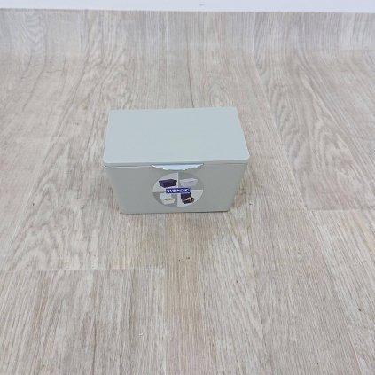 Šedý koupelnový box Wenko Brasil