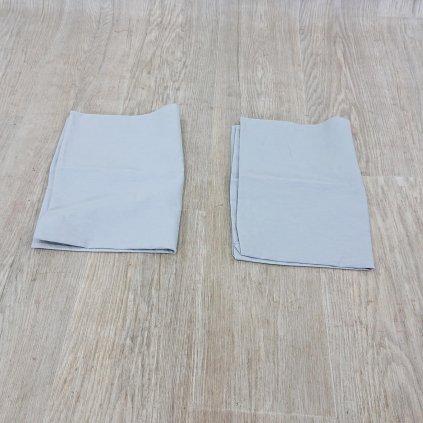Sada 2 bílých bavlněných povlaků na polštář Beverly Hills Polo Club, 50 x 70 cm