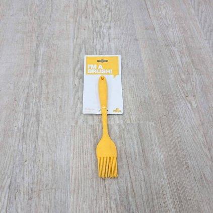 Žlutá silikonová mašlovačka Premier Housewares Zing