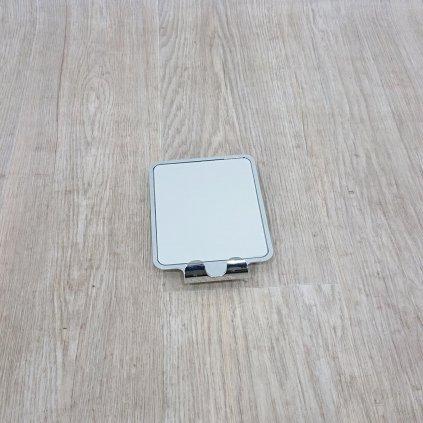 Samodržící nástěnné zrcadlo se 2 háčky Wenko Vacuum-Loc, nosnost až 33 kg