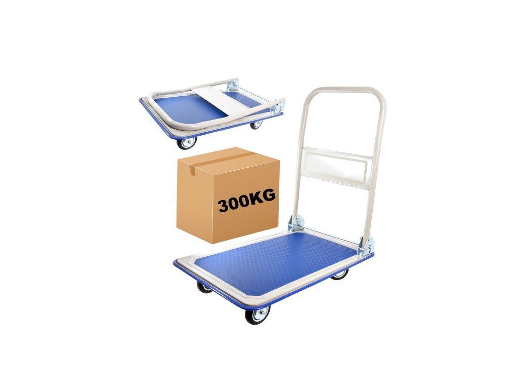 2204 prepravni skladovy vozik plosinovy 300 kg