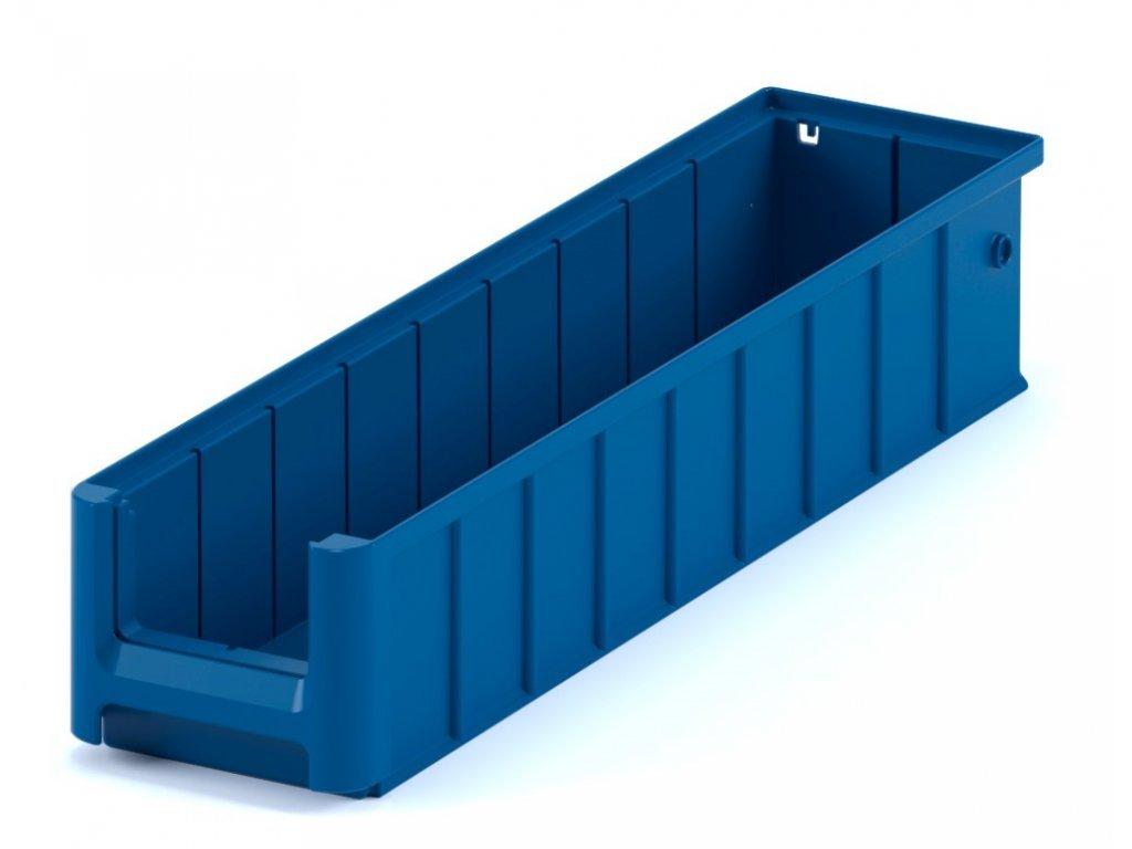 4583 5 plastovy skladovaci box do regalu 60 x 11 7 x 9 cm