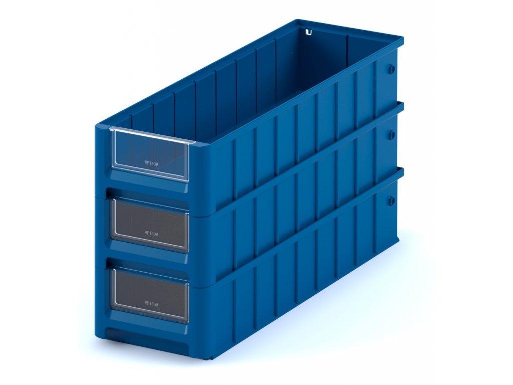 Plastový ukládací box 60 x 23,4 x 14 cm