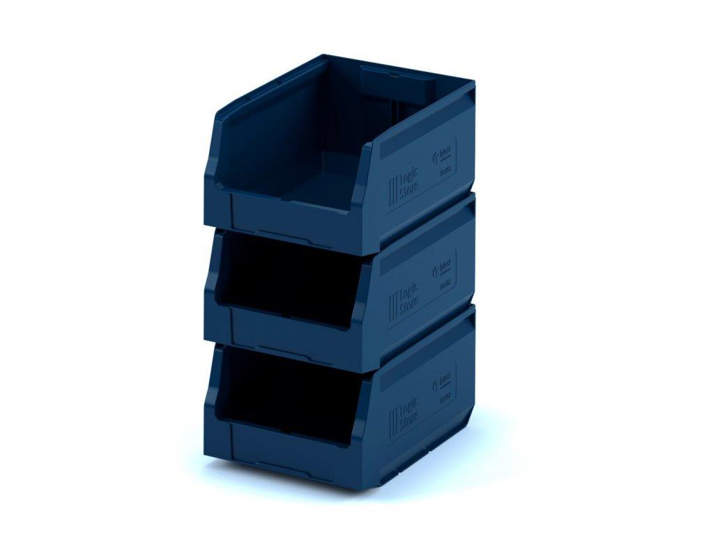 Plastový ukládací box 30 x 22,5 x 15 cm