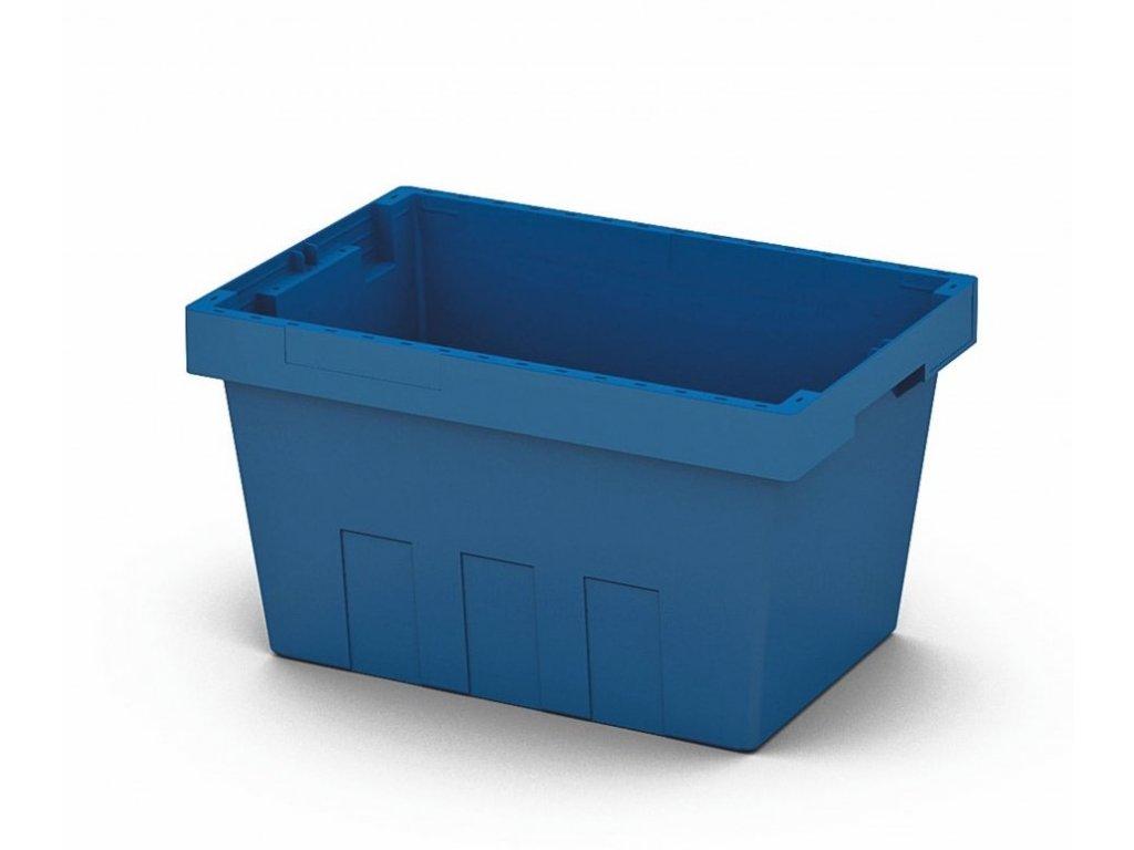 4634 1 plastovy prepravni box 49 x 33 x 28 cm