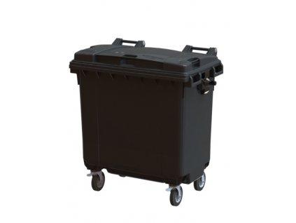 Передвижной мусорный контейнер 770л Арт.26.C19 (20.804.98.PE; 21.053.98.PE)