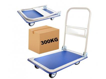 Přepravní skladový vozík plošinový 300 kg