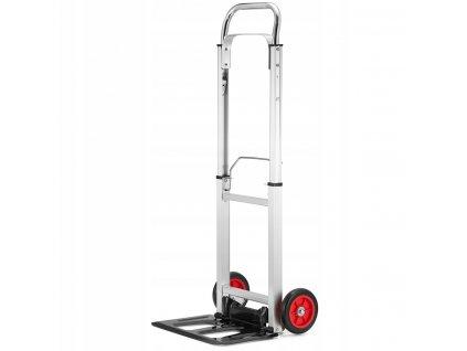 Hliníkový skládací přepravní vozík - rudl 90 kg