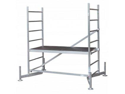 Transportowy wozek aluminiowy skladany HIGHER 70kg Rodzaj wozka platformowy