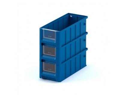 Plastový ukládací box 30 x 11,7 x 9 cm