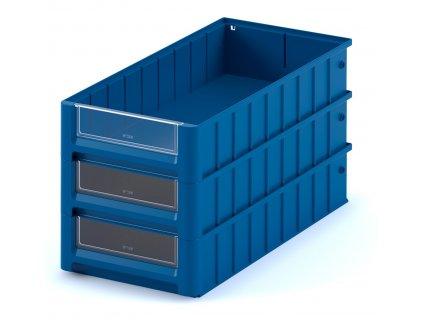 Plastový ukládací box 50 x 23,4 x 9 cm