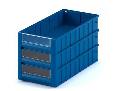 Plastový ukládací box 60 x 15,6 x 9 cm