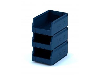 Plastový ukládací box 35 x 22,5 x 20 cm