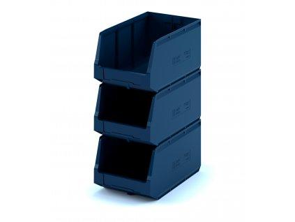 Plastový ukládací box 50 x 30 x 25 cm
