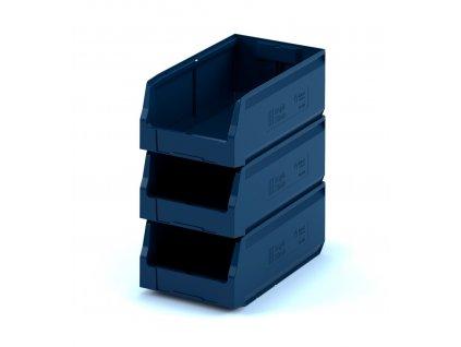Plastový ukládací box 40 x 22,5 x 15 cm